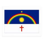 Pernambuco, bandera del Brasil Postal