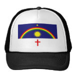 Pernambuco, Brazil flag Mesh Hats
