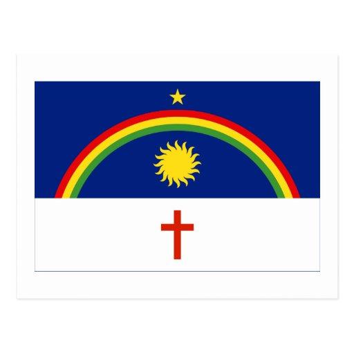 Pernambuco, Brazil Flag Postcard