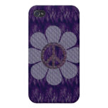 Perned Peace Flower iPhone 4/4S Cases
