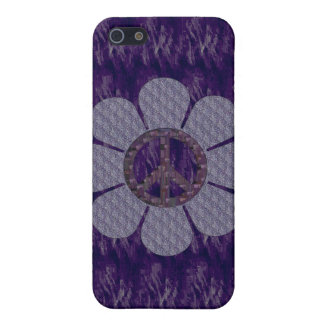 Perned Peace Flower iPhone 5 Case