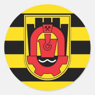 pernik, Bulgaria Classic Round Sticker
