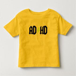 Perno amarillo de ADHD Playera De Bebé