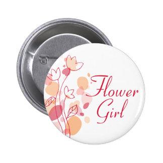 Perno/botón del boda del florista pin redondo de 2 pulgadas