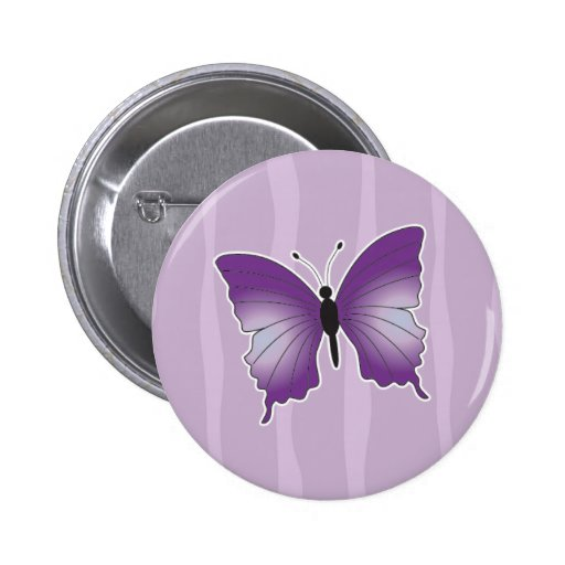 Perno/broche púrpuras de la mariposa pins