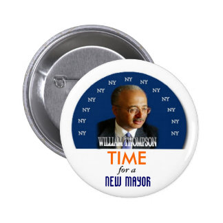 Perno de alcalde Guillermo Thompson de 2009 NY Pins