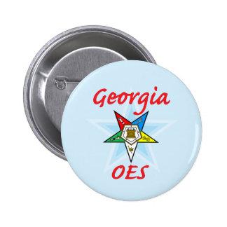 Perno de Georgia OES Pin Redondo De 2 Pulgadas