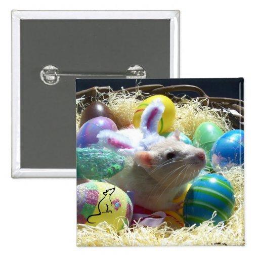 Perno de la rata de Pascua Pin Cuadrada 5 Cm