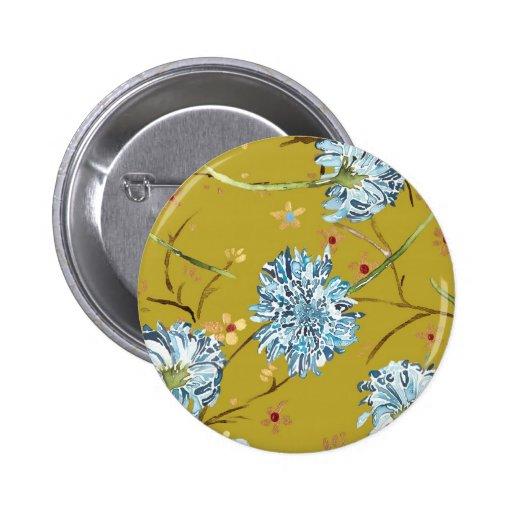 Perno de los crisantemos pin redondo de 2 pulgadas