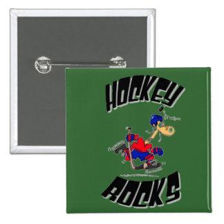 perno de los hockeyrocks pin cuadrada 5 cm