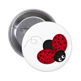 Perno de señora Bug Luck Pin Redondo 5 Cm