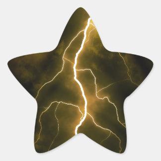 Perno del aligeramiento pegatina en forma de estrella