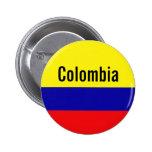Perno del botón de Colombia Pins