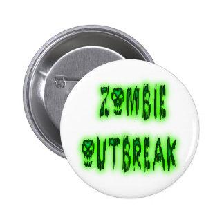 Perno del brote del zombi pin redondo 5 cm