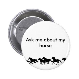 perno del caballo pin redondo de 2 pulgadas