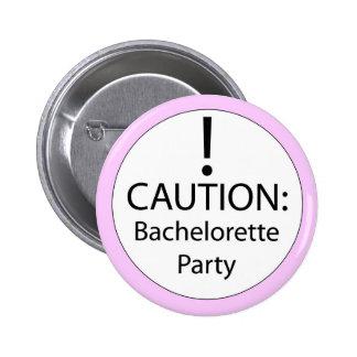 Perno del fiesta de Bachelorette Pin Redondo 5 Cm
