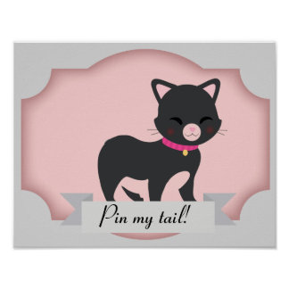 perno del gato el poster de la cola