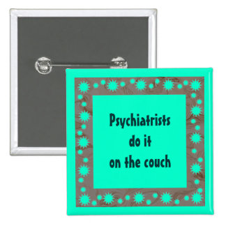 Perno divertido de los psiquiatras pins