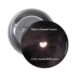 perno en forma de corazón de la luna pins