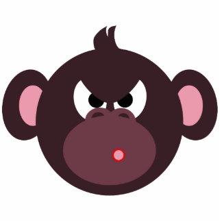 Perno enojado del mono esculturas fotograficas