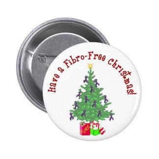 Perno fibro del navidad del árbol pin redondo de 2 pulgadas