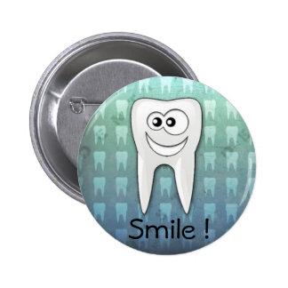 Perno fresco del higienista dental de la sonrisa pin