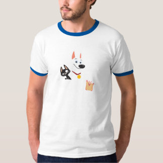 Perno, manoplas y rinoceronte Disney Playera