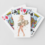 perno para arriba baraja cartas de poker