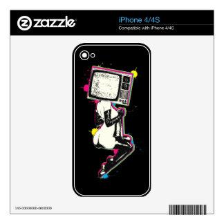Perno-para arriba de Cmyk Calcomanía Para iPhone 4S