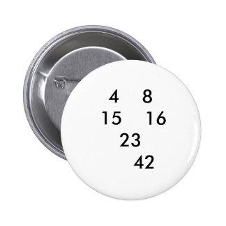 Perno PERDIDO de los números Pin Redondo De 2 Pulgadas