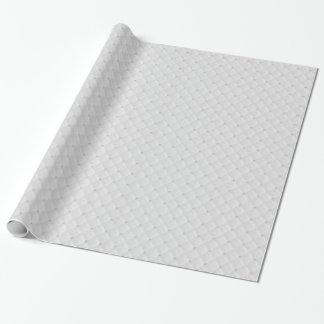 Perno prisionero blanco de la perla acolchado papel de regalo