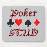 Perno prisionero del póker tapetes de raton