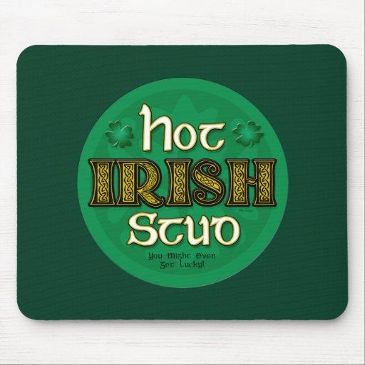 Perno prisionero irlandés caliente (MousePad) Alfombrillas De Ratones