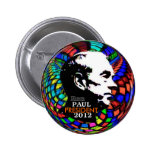Perno psicodélico 2012 de Ron Paul Pin Redondo 5 Cm