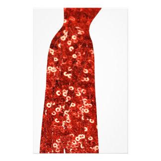 perno rojo del vintage de la lentejuela para papelería de diseño