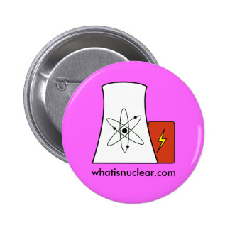 perno rosado de Whatisnuclear.com Pins