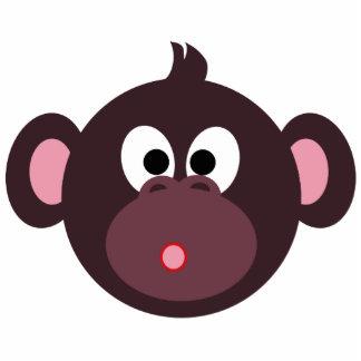 Perno sorprendido del mono pin fotoescultura