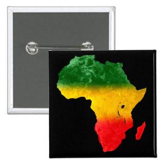 Perno tricolor topográfico de África Pin Cuadrado