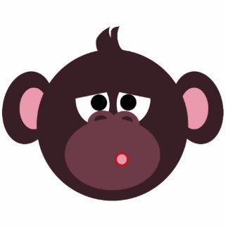 Perno triste del mono escultura fotográfica