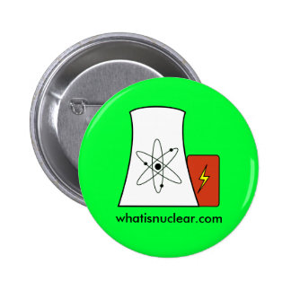 perno verde de Whatisnuclear com Pin