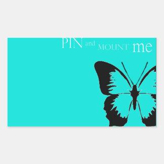 Perno y soporte de la mariposa rectangular altavoces