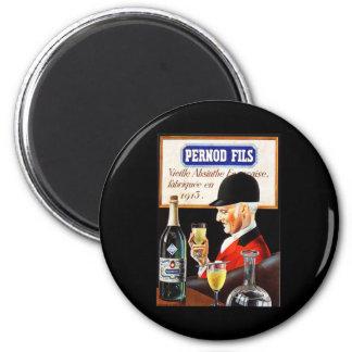 Pernod Fils 2 Inch Round Magnet