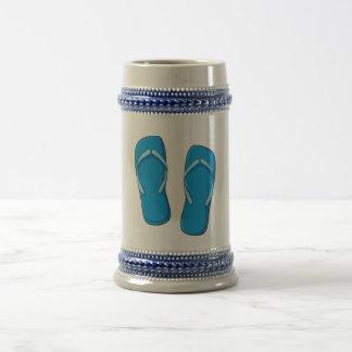 Pernos azules de encargo de las tarjetas de jarra de cerveza