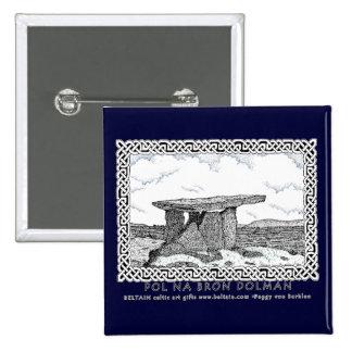 Pernos célticos y diseño céltico del dolmán de los pins