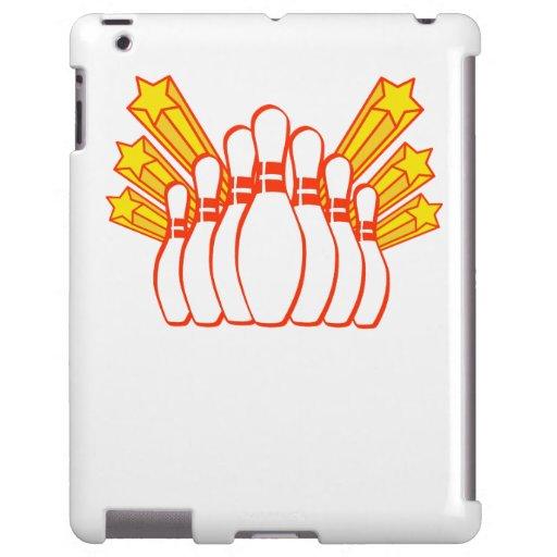 Pernos de bolos funda para iPad