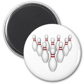 Pernos de bolos: modelo 3D: Imán Redondo 5 Cm