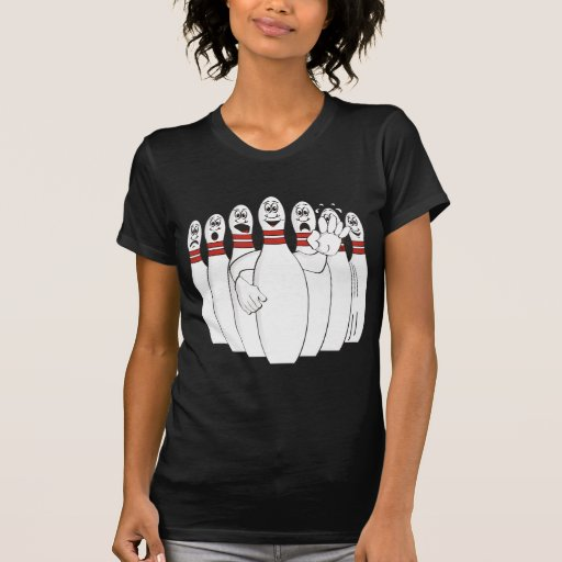 Pernos de bolos preocupantes camiseta
