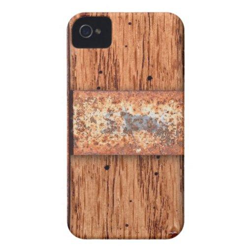 PERNOS DE BRONCE DE COBRE DEL MOHO DEL METAL DE LA Case-Mate iPhone 4 PROTECTORES