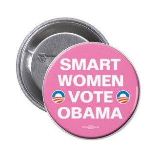 Pernos de la campaña de Obama Pin