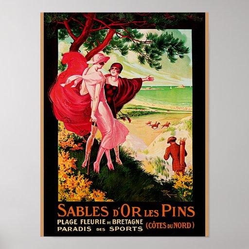 Pernos de los les del d'Or de los Sables Posters